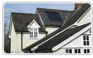 Home PV solar installation, Isle of Wight